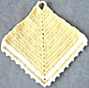 Vintage Crocheted Yellow Pot Holders (Image1)