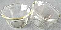 Vintage Pyrex Custard Cups Set of 2 (Image1)