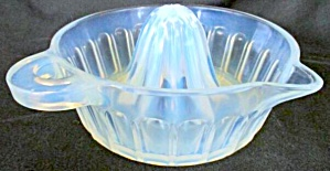 Fry Glass Opalescent Juicer/reamer