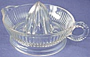 Vintage Clear Glass Juicer or Reamer (Image1)