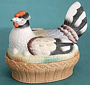 "Staffordshire ""Hen on Nest"" (Image1)"