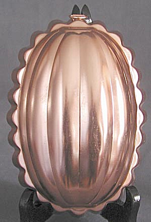 Vintage Aluminum Copper Colored Melon Mold (Image1)