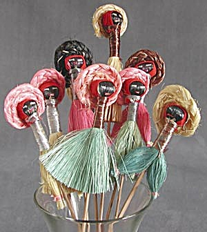 Vintage Decorative Food Skewers