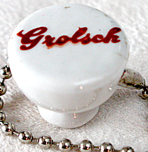 Grolsch Beer Bottle Porcelain Top