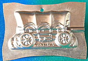 Vintage Metal Chocolate Candy Lollipop Mold