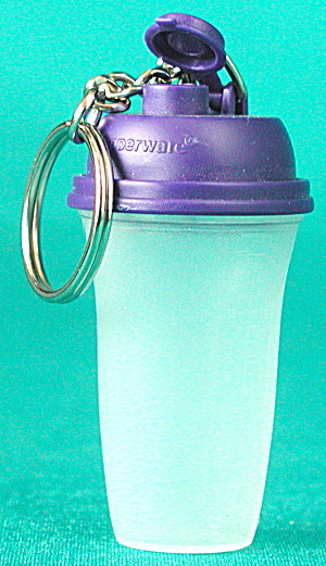 Tupperware Tall Canister Keychain