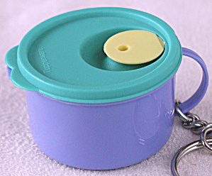 Tupperware Canister Keychain