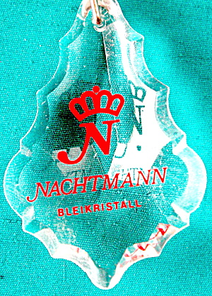 Nachtmann German Crystal Keychain