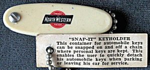 Chicago Northwestern System Snap-it Keyholder