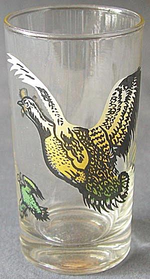 Vintage Quail Drinking Glasses Set of 6 (Image1)