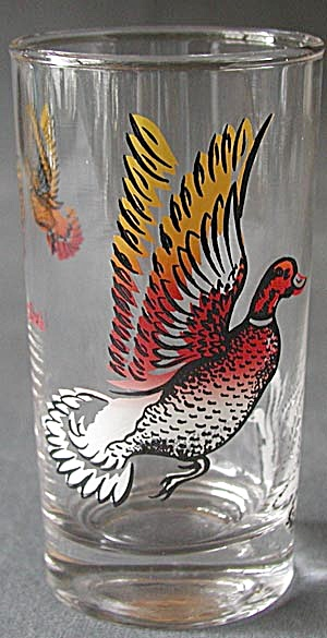 Vintage Duck Drinking Glasses Set of 4 (Image1)