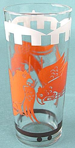 Vintage Circus Parrot Glass Tumbler (Image1)