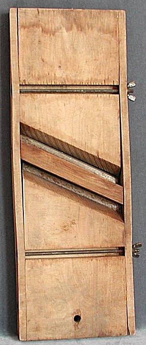 Antique Wooden Cabbage Slicer (Image1)
