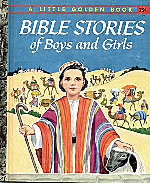 Bible Stories for Boys & Girls Little Golden Book (Image1)