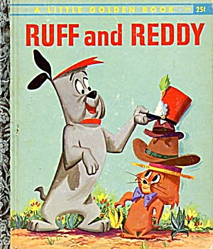Ruff And Reddy Little Golden Book