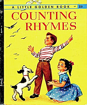 Counting Rhymes Little Golden Book 1st Ed