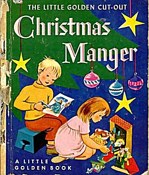 The Little Golden Cut-out Christmas Manger Book