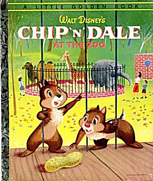 Walt Disney's Chip & Dale At the Zoo (Image1)