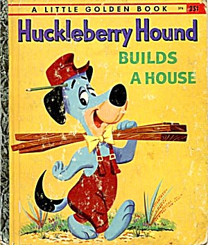 Huckleberry Hound Little Golden Book (Image1)