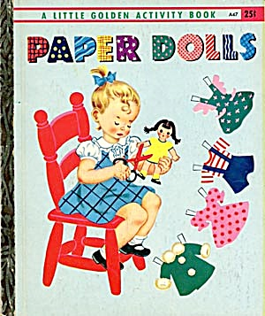 Paper Dolls Activity Book