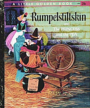 Rumpelstiltskin/The Princess/the Pea Little Golden Book (Image1)