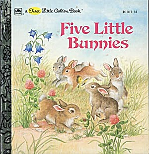 Five Little Bunnies First Little Golden Book (Image1)