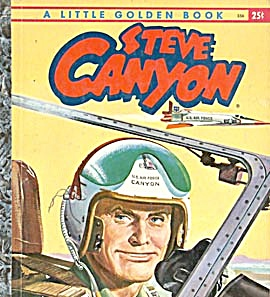 Steve Canyon Little Golden Book (Image1)