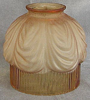 Vintage Amber Glass Shade (Image1)