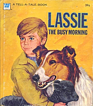 Vintage Lassie The Busy Morning