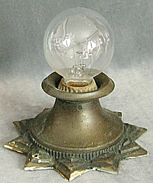 Vintage Art Deco Ceiling Light (Image1)