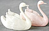 Vintage Plastic Swans Candy Containers