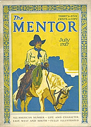 Vintage Mentor Magazine Set Of 5