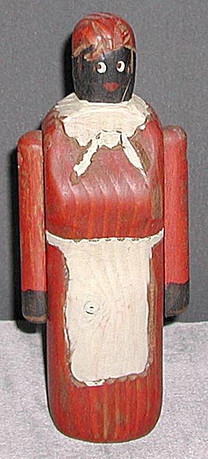 Rustic Wooden Black Woman (Image1)