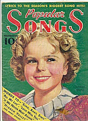 Vintage Shirley Temple on Cover of Popular Songs (Image1)