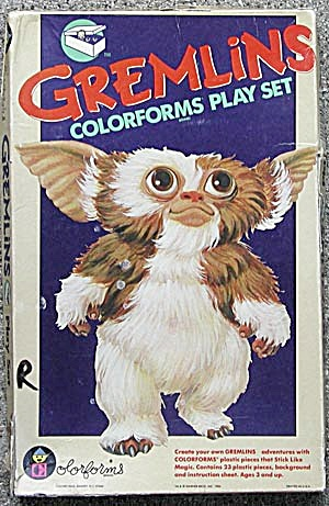 Gremlins Colorforms Play Set (Image1)