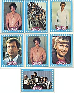 Vintage Grease Stickers 1978 (Image1)