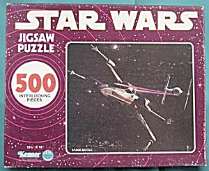 Star Wars  Space Battle  Jigsaw Puzzle (Image1)