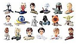Star Wars 2008 McDonald's Clone Wars Complete Set (Image1)