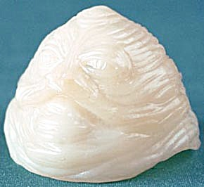 Vintage White Jabba Head (Image1)