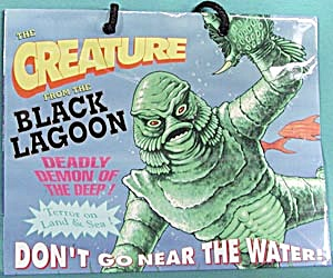 Creature of the Black Lagoon & Wolfman Shopping Bag (Image1)