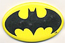 Oval Batman Pin By Dc Comics