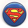 Superman Pinback Button