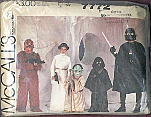 Vintage Star Wars McCall's Pattern (Image1)