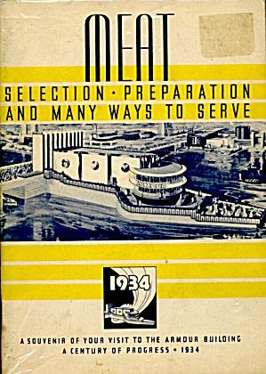 Vintage Cookbook 1933-34 Chicago World's Fair Souvenir (Image1)