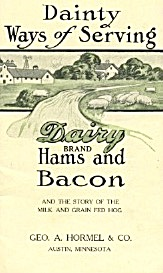 Dainty Ways Of Serving Dairy Brand Hams & Bacon