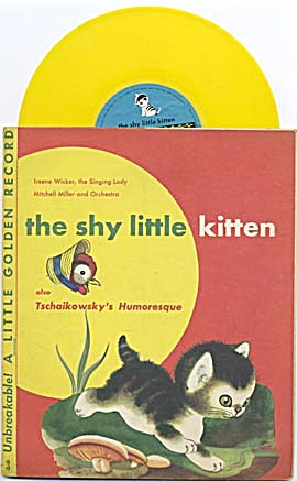 The Shy Little Kitten Little Golden Record (Image1)