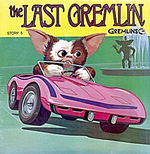 Gremlins Books And Records Set Of 3