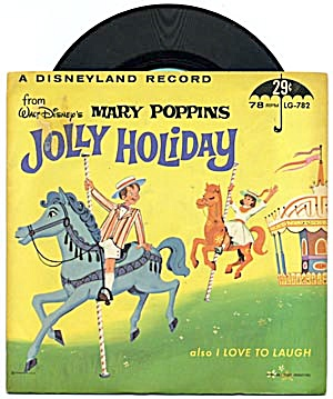 Walt Disney's Mary Poppins Jolly Holiday & I Love To (Image1)