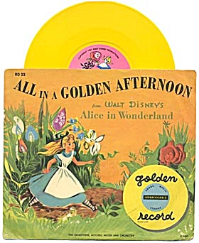 Walt Disney's Alice in Wonderland All in A Golden After (Image1)