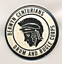 Vintage Drum And Bugle Corps Pinback Button